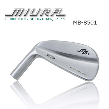 Miura Golf MB8501 Left Hand Muscleback Iron