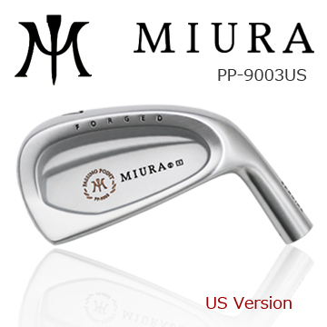 Miura Golf PP9003 US 6pcs.set Straight Neck irons Special price